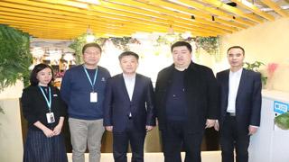 西安市新城区委书记仵江莅临跑得快工商交流考察
